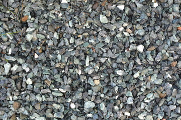 Pebbles and small stones for garden decoration