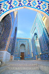 Foto op Aluminium Monument Shah-i-Zinda necropolis in Samarkand, Uzbekistan.