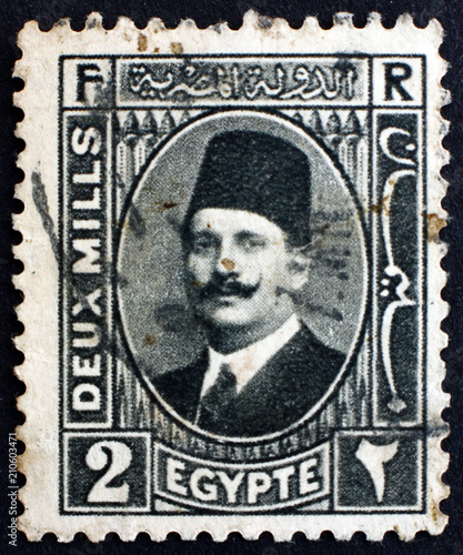 Postage Stamp Egypt 1929 King Fuad I Of