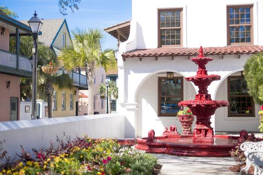 Charming Corner, St. Augustine, Florida