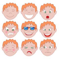 Red Boy Emoticon Emoji