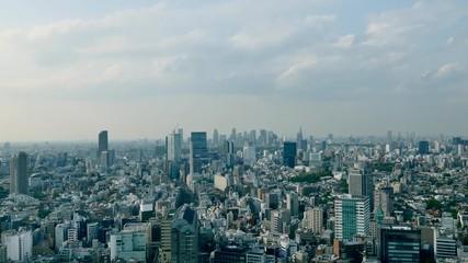 Wall Mural - 東京風景 タイムラプス