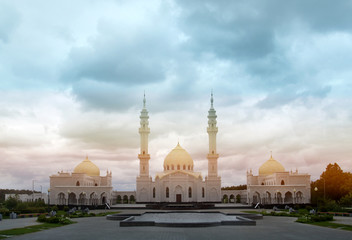 Photo of beautiful unusual White Mosque