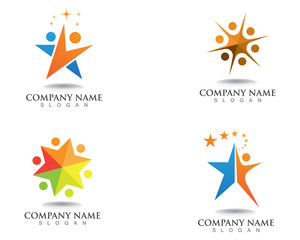 Logo star leadership