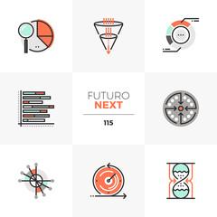 Visualization Charts Futuro Next Icons