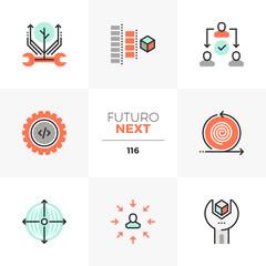 Production Process Futuro Next Icons
