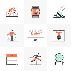 HIIT Training Futuro Next Icons