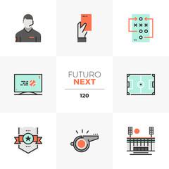 Soccer Game Futuro Next Icons
