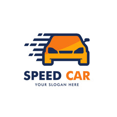 Fast Car Logo Vector