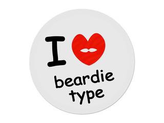 I love beardie type