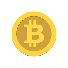 Bitcoin simple icon