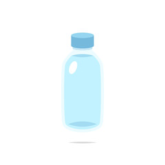 Bottle of water vector isolated