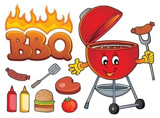 Barbeque theme set 2
