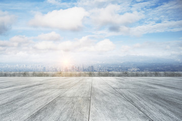 Fototapete - Creative outdoor background