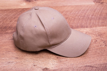 Men's cap is flesh-colored