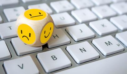 Zufriedenheit, Bewertung, Umfrage