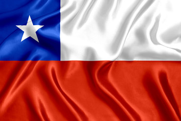 Flag of Chile Silk
