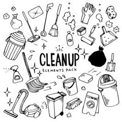 CleanUp Illustration Pack