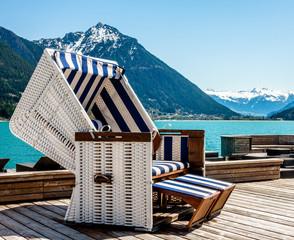 hooded beach chair