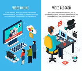 Online Video Vertical Banners
