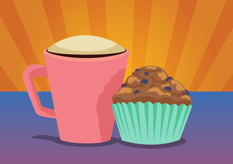 Coffee and Muffin Combo