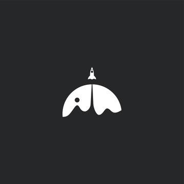 Rocket Logo Vector Template Design Illustration