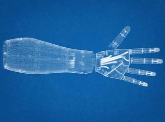 Robotic hand Architect Blueprint