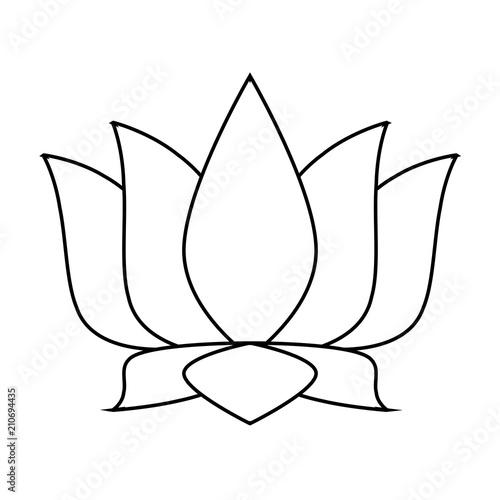 Lotus flower symbol vector illustration graphic design stock image lotus flower symbol vector illustration graphic design mightylinksfo