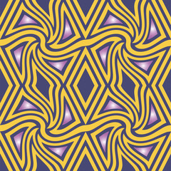 Abstract seamless color pattern