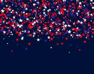 Stars for USA holidays