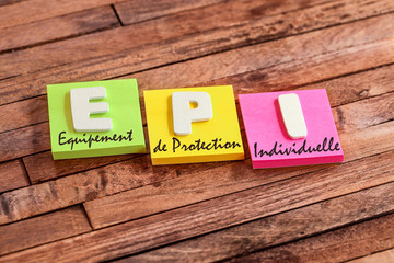 post-it acronyme : EPI