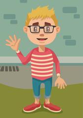 Hipster Kiddo