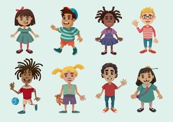 Kid Characters Set 1