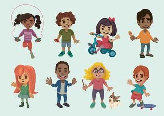Kid Characters Set 2