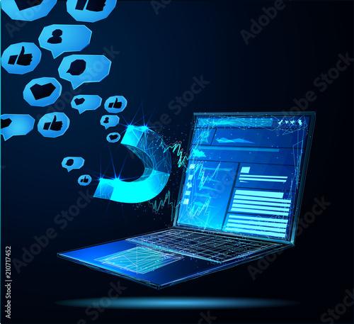 Facebook Digital advertising ads social media online