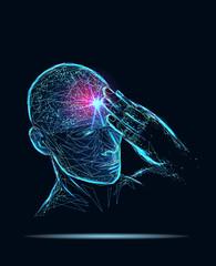 Headache human