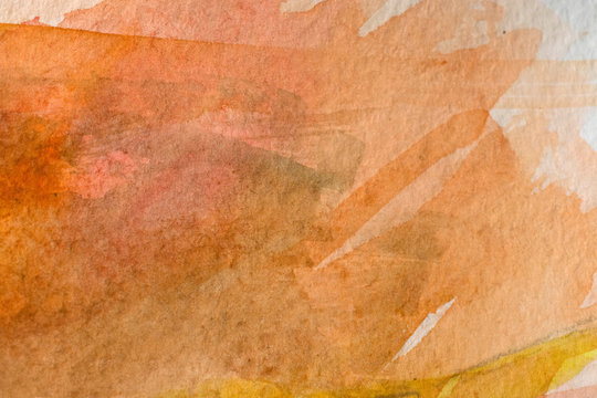 warm brown watercolor background