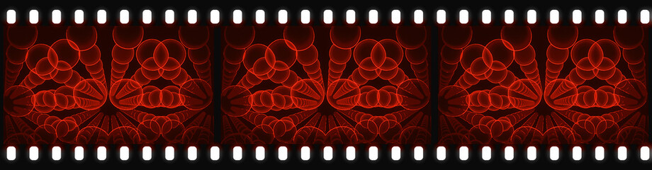 Filmstrip - Nanotubes - Nanotechnology -  Abstract Illustration