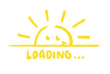 Sun loading...