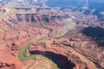 aerial view of grand canyon national park, arizona