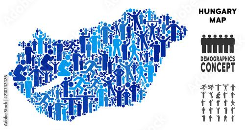 on demographic map
