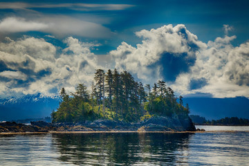 Island Near Sitka Alaska