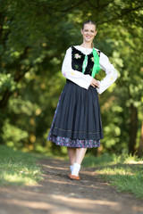 Slovakian folklore dance