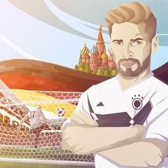 Fußball Spieler– Deutschland