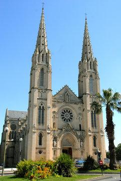 Cathédrale Saint-Baudile, Ville de Nîmes, département du Gard, France