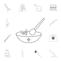 Ethnoscience icon. Simple element illustration. Ethnoscience symbol design from Medical collection set. Can be used for web and mobile