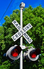 Railroad Crossing - High Dynamic Resolution - 9 Images