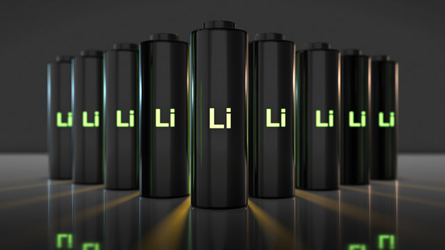 lithium-ion battery Li-ion quick recharge and long life eclectic power
