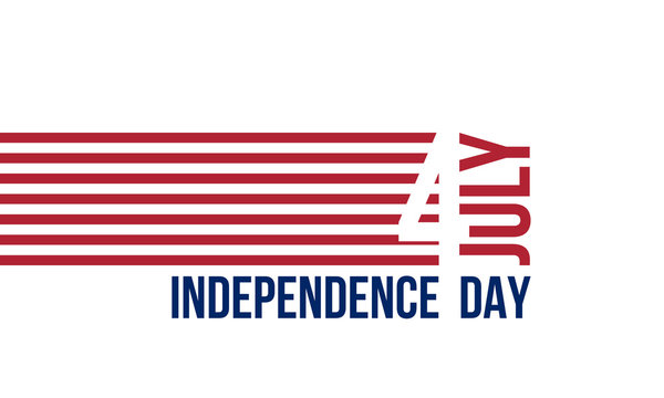 4th of July, Independence Day, vector illustration