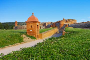 Salses Fort - Fort de Salses in France